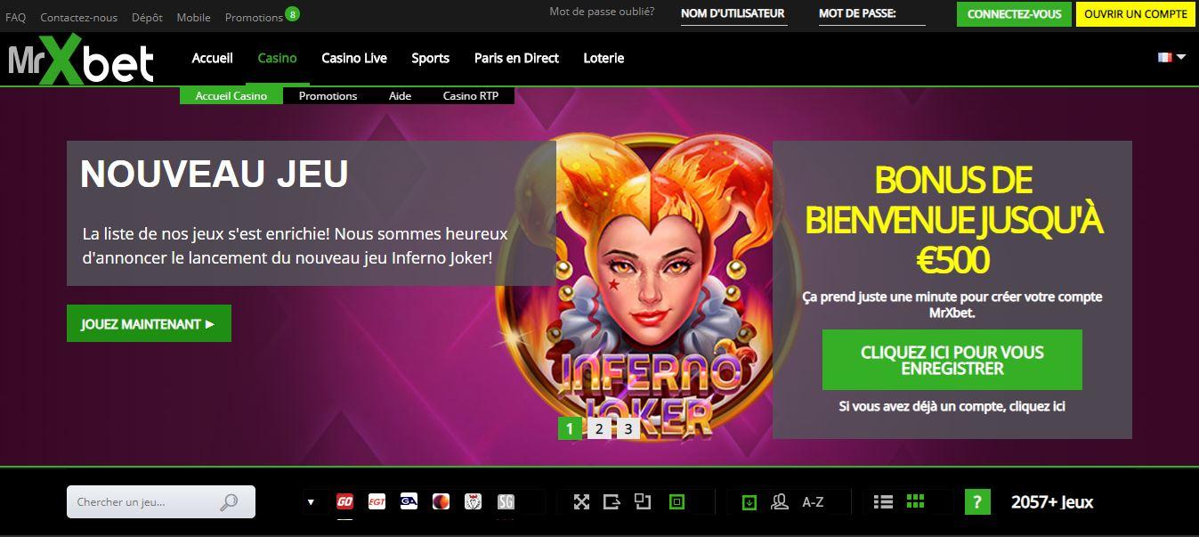 Mrxbet test : tout sur ce casino en ligne
