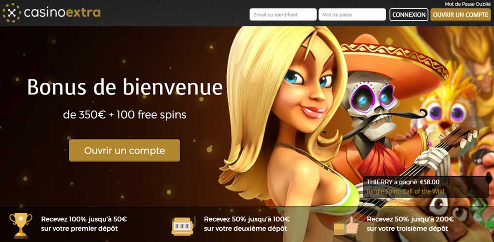 Bonus Casino Extra : quel est le programme de bonus du casino ?