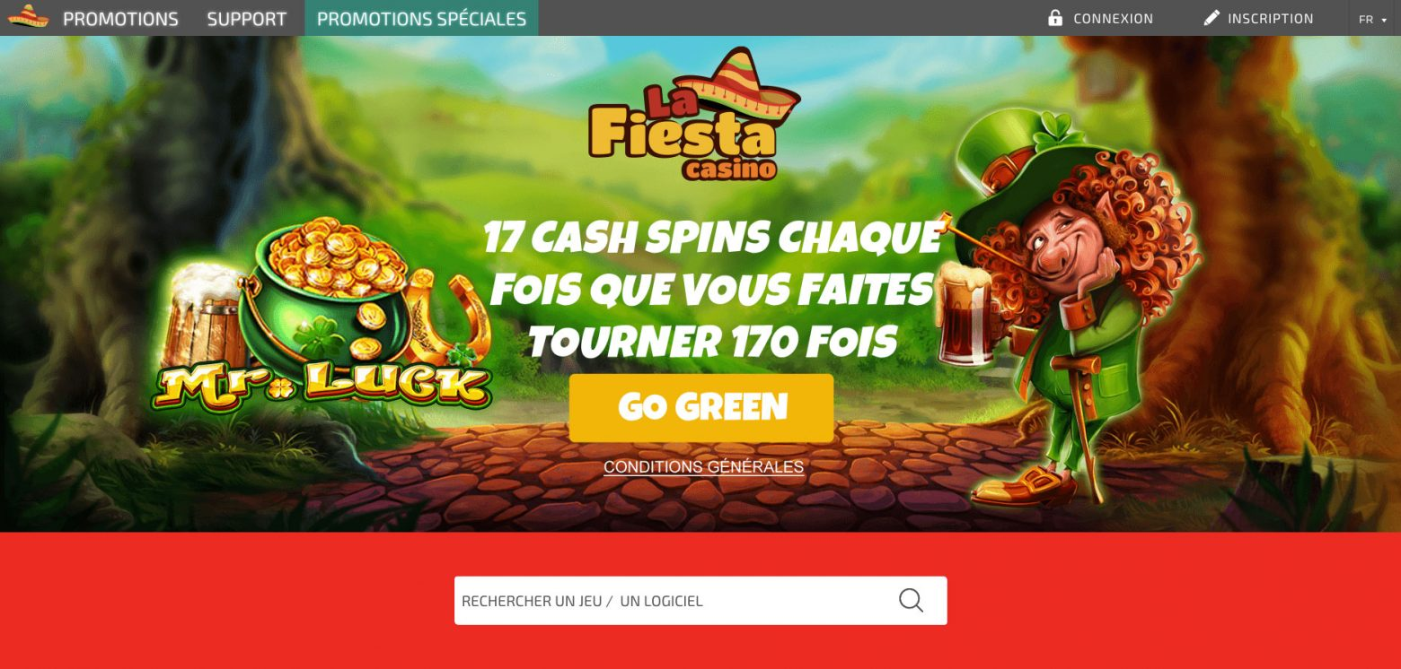 Retrait La Fiesta casino